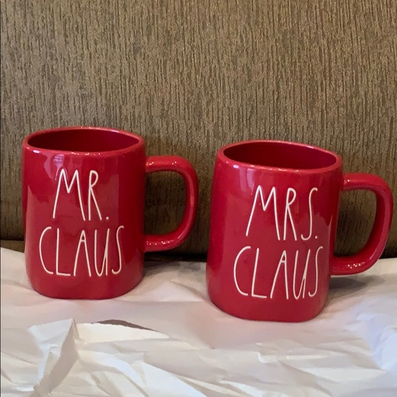 Rae Dunn Mr and Mrs Claus Brand New